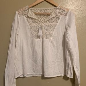 Old Navy | Romantic Lace Blouse | NWT | XS
